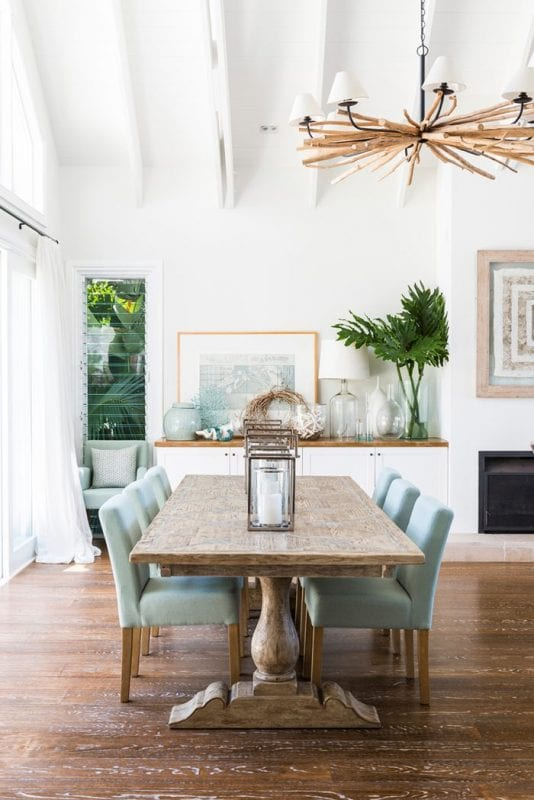 inspiration and tips for decorating a casual coastal dining room - Dining Room Inspiration