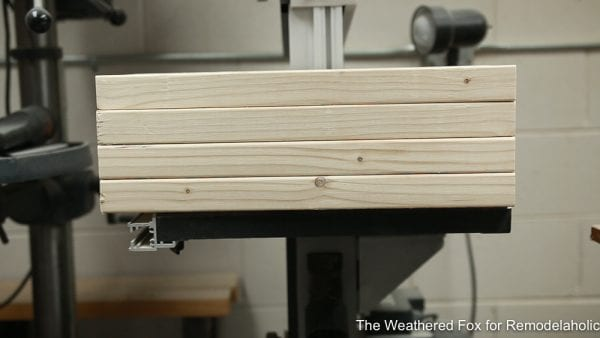 How to make a wooden bench, Easy Outdoor Farmhouse Bench The Weathered Fox 11