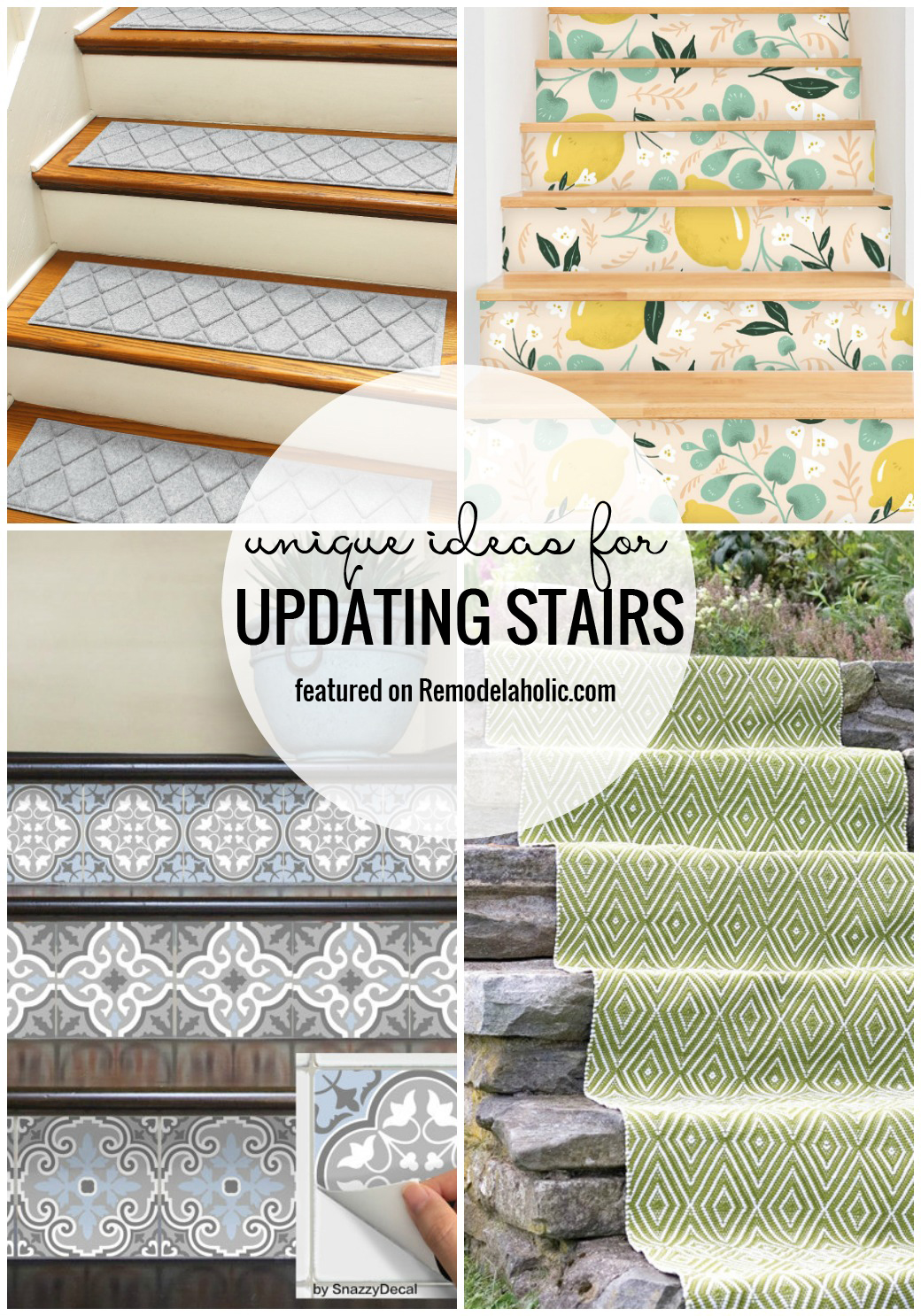 Unique Ideas For Updating Stairs