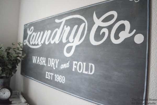 remodelaholic fixer upper inspired farmhouse laundry sign free