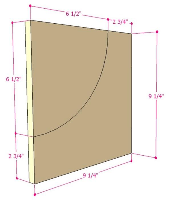 DIY Wall Shelf Building Plan Apieceofrainbow (3)