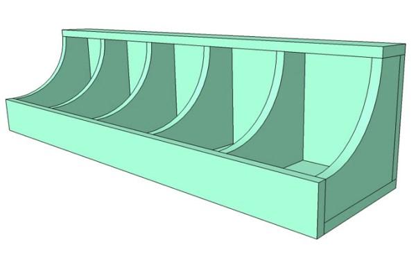 DIY Wall Shelf Building Plan Apieceofrainbow (9)