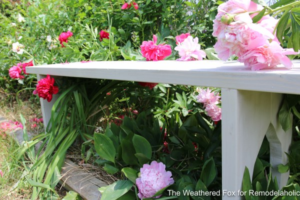 Easy Farmhouse Bench From Inexpensive Lumber Remodelaholic The Weathered Fox 12