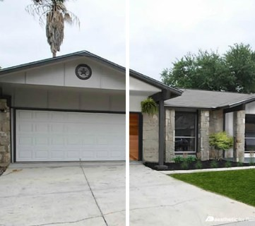 Real Life Rooms: Mid-Century Modern Curb Appeal Makeover