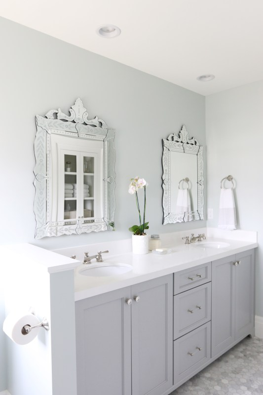 Vanity Color Is Benjamin Moore Coventry Gray