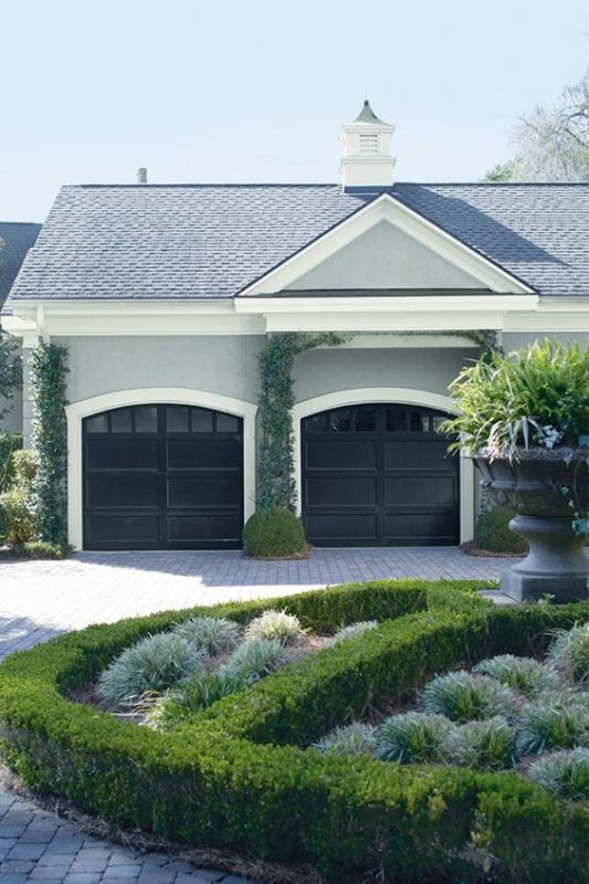 Benjamin Moore Coventry Gray Home Exterior