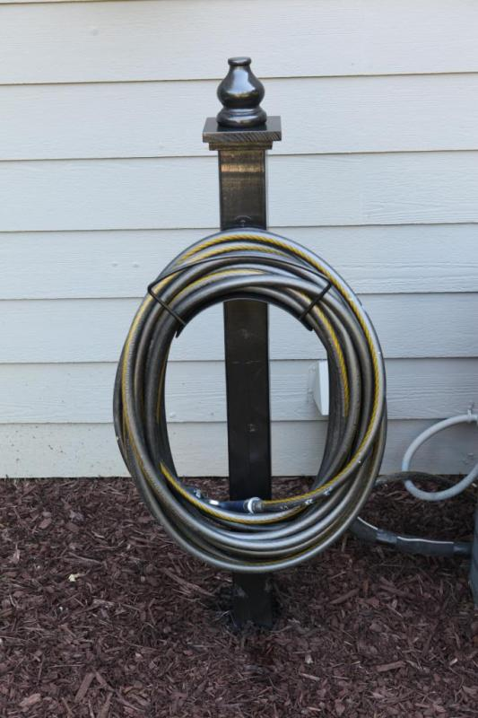 Build With 2x4s, 4x4 Hose Holder, Bower Power Blog