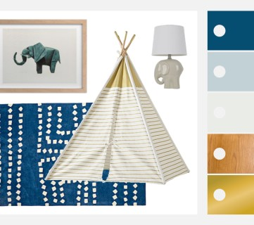 Playful and Blue: Boys Playroom Decor and Inspiration
