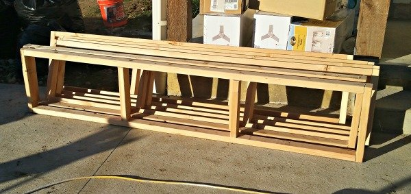 Remodelaholic How To Build A Sliding Barn Door Console For Your