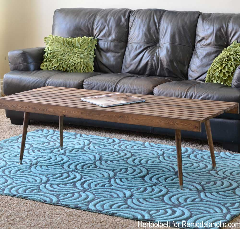 Ordinaire Build An Easy Simple And Stylish MCM Coffee Table With Free Plans.