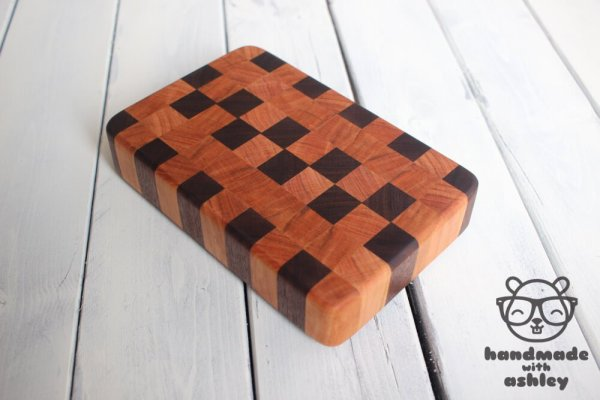 End Grain Cutting Board How To Tutorial Woodworking Diy Kitchen 5