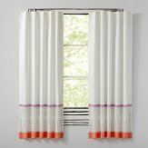 Girls Playroom Striped Curtains