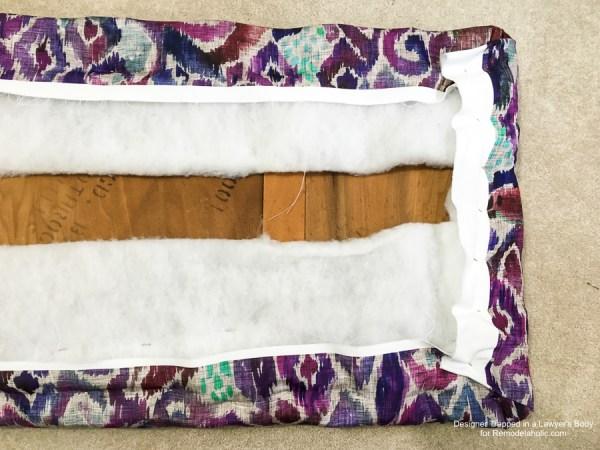 Upholstered Bench Remodelaholic 2