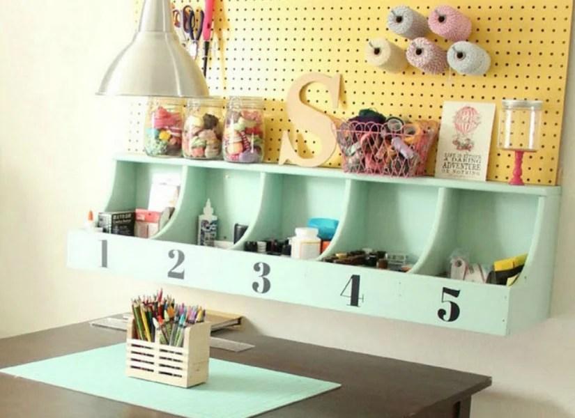 Remodelaholic | DIY Beautiful Wall Cubby Shelf - Free ...