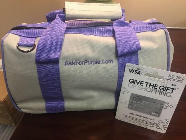 AskForPurple Giveaway Photo
