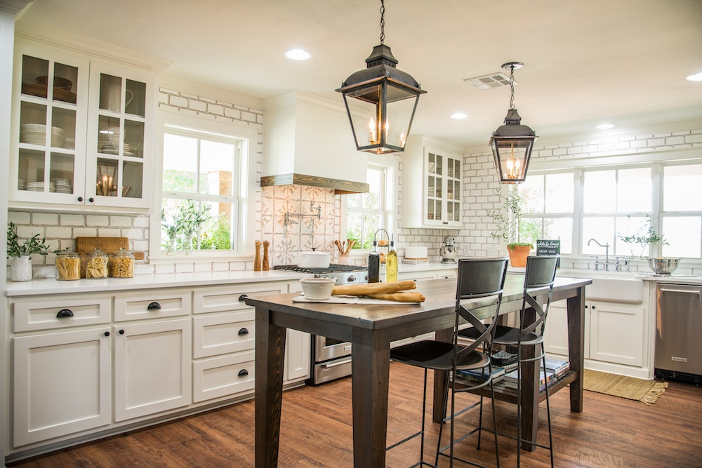 Remodelaholic Get This Look Fixer Upper Worm House Kitchen