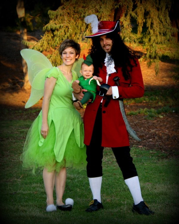 Captain Hook Tinkerbell And Peter Pan Halloween Costumes Gourmet By Janae