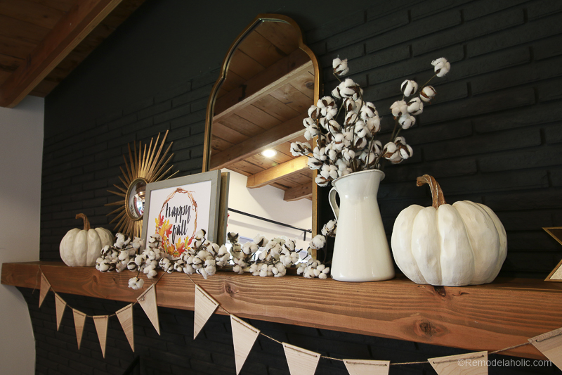 Fall Mantel Decor With Shaw Floors@Remodelaholic 43
