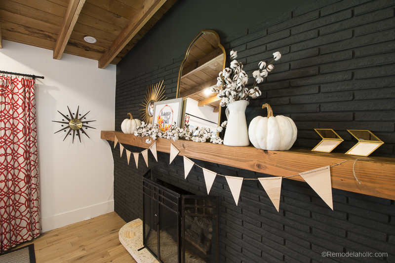 Fall Mantel Decor With Shaw Floors@Remodelaholic 47