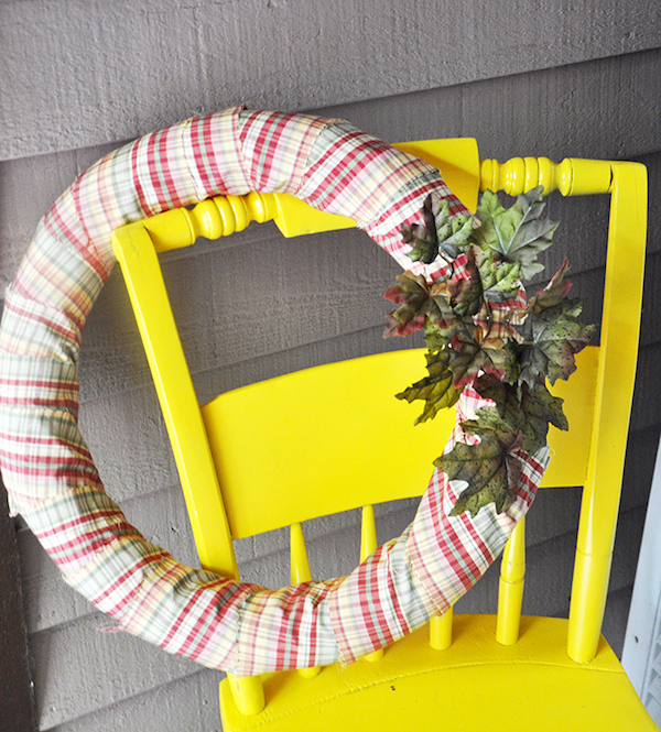 Pool Noodle Wreath 13