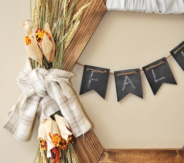 Rustic Fall Wreath