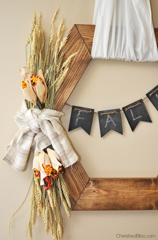 Rustic Fall Wreath Cherished Bliss