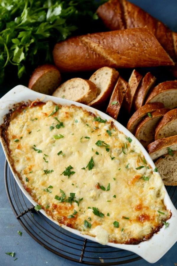 Artichoke Parmesan Dip 5 Remodelaholic