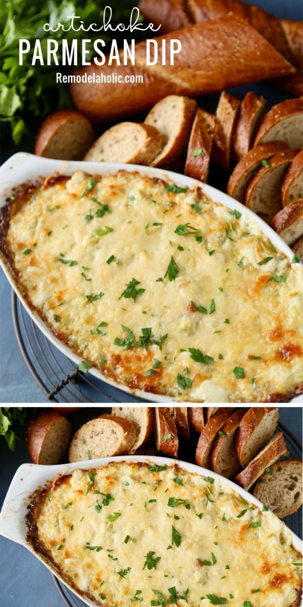 Artichoke Parmesan Dip Remodelaholic