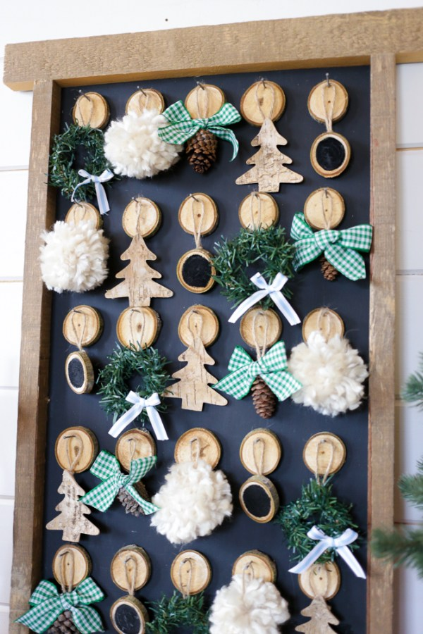DIY Christmas Advent Calendar | This Mamas Dance For Remodelaholic 6