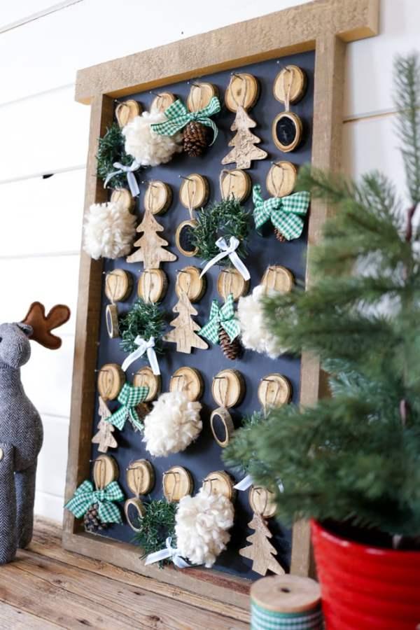 DIY Christmas Advent Calendar | This Mamas Dance For Remodelaholic 7