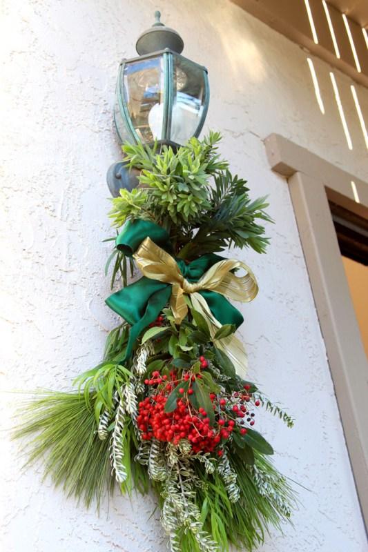 DIY Christmas Swag Apieceofrainbowblog Tutorial (14)