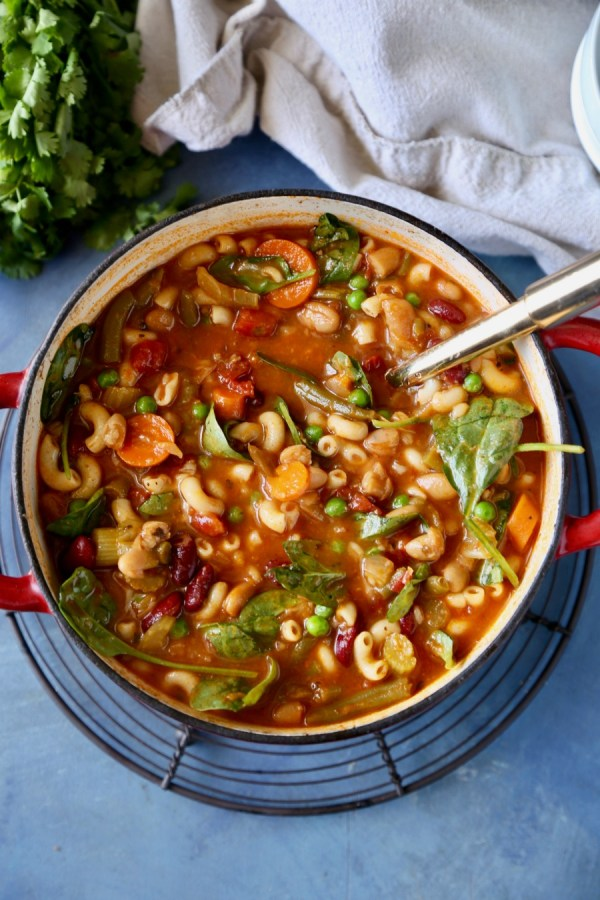 Minestrone Soup Remodelaholic 3
