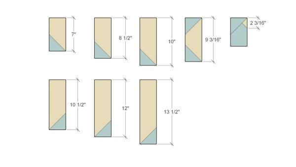 Remodelaholic Herringbone Tree Cut Diagram