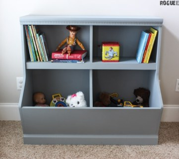 20 Incredible DIY Shelving Units