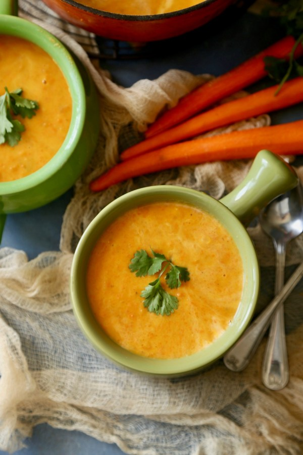 Carrot Soup Remodelaholic 4