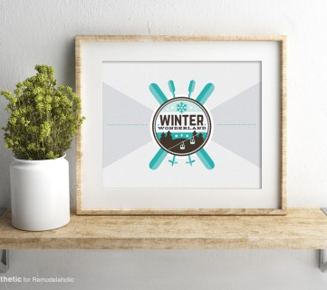 Free Printable: Winter Wonderland