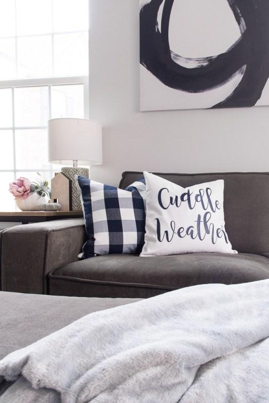 How To Make A Cozy Fall Pillow Using The Cricut Explore 36