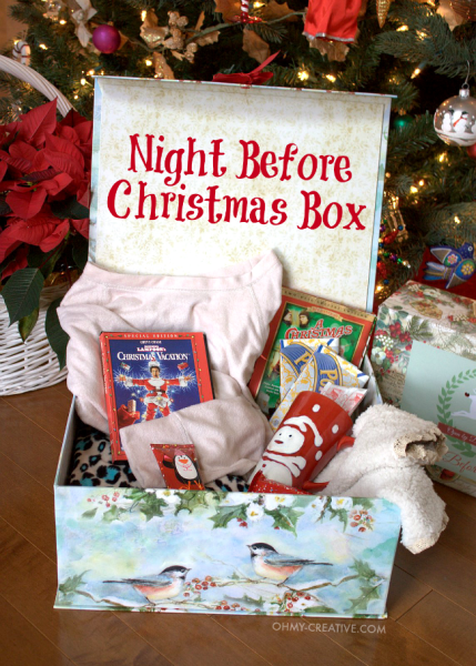 Night Before Christmas Box For Teens