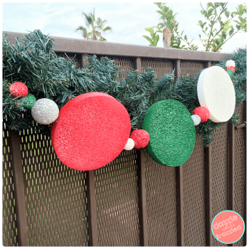 Dazzlewhilefrazzled Diy Outdoor Holiday Garland
