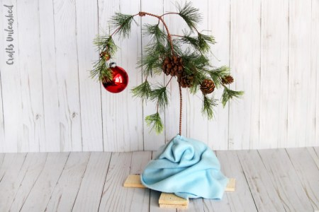 Diy Charlie Brown Christmas Tree Consumer Crafts Unleashed 2