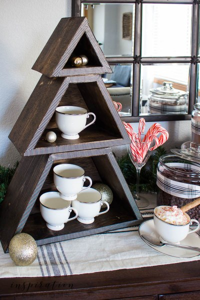 Inspirationformoms Stackable Christmas Tree Shelf