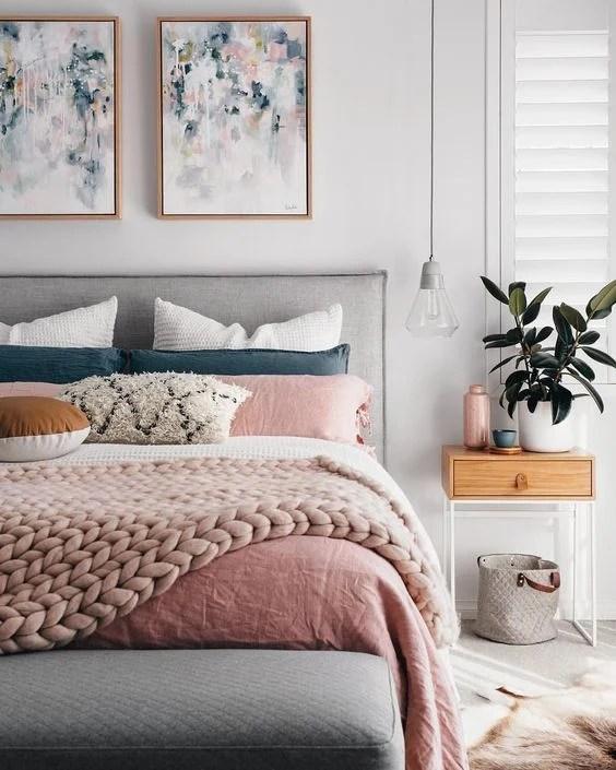 Bedroom Inspiration Blush Bedroom Inspiration 4