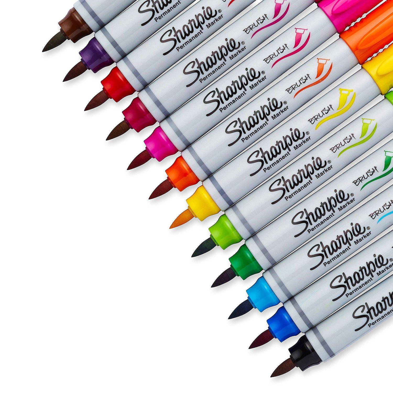 Brush Tip Sharpie Markers