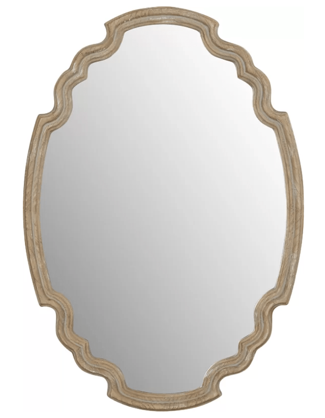 Wood Accent Mirror