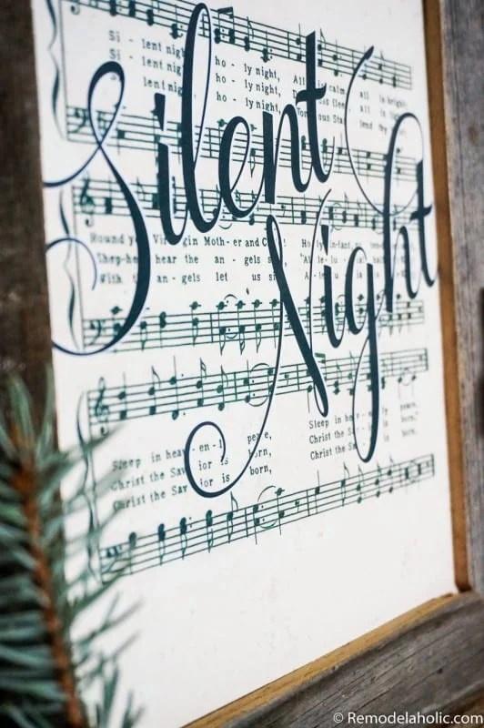 Music Can Print Sheet Christmas You