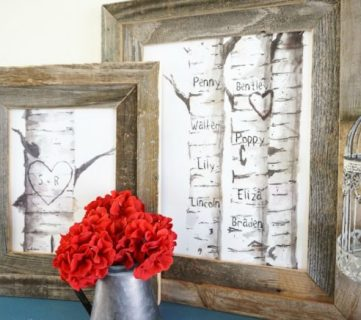 Last-Minute Free Printable Gift Ideas + Inexpensive DIY Frames