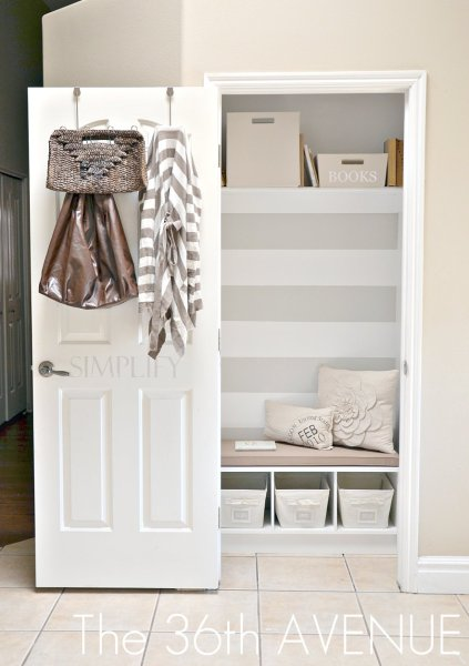 1 Entry Closet Remodel By The 36th Avenue Featured On @Remodelaholic