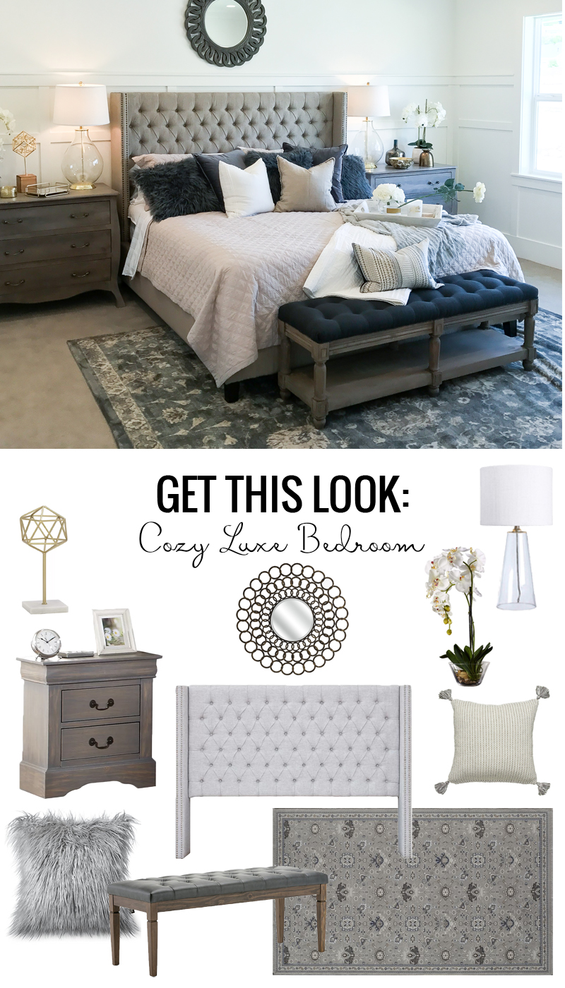Cozy Luxe Bedroom Design
