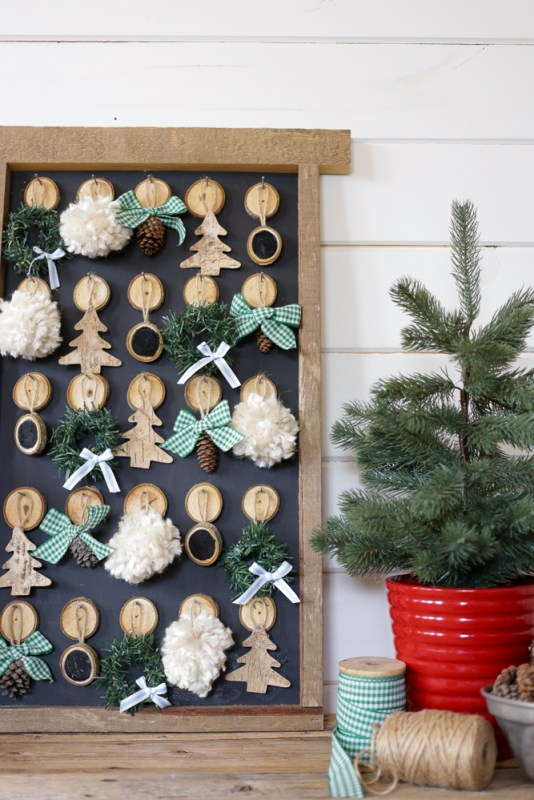 DIY Christmas Advent Calendar This Mamas Dance For Remodelaholic 3