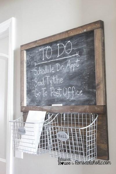 DIY Locker Basket Mail Organizer 6 Of 7